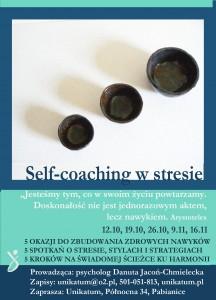 Self-coaching  w stresie ZAPROSZENIE